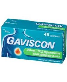 GAVISCON 48CPR MASTICABILI GUSTO MENTA 2...