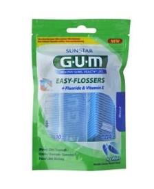 GUM EASY FLOSSERS FORCEL 30PZ