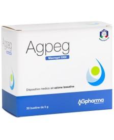 AGPEG MACROGOL 3350 30BUST 5G