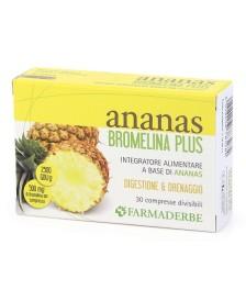 ANANAS BROMELINA PLUS 30CPR