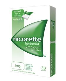NICORETTE*30GOMME MAST 2MG
